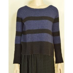 Vince top sweater SZ S long sleeve dark blue black